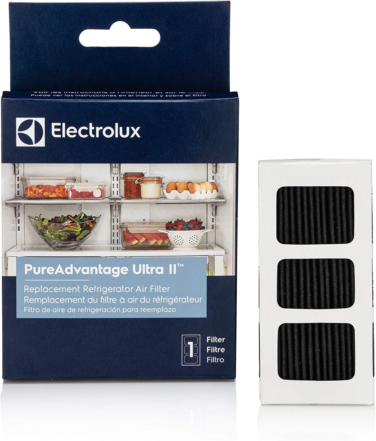 Electrolux ELPAULTRA2 PureAdvantage ULTRA II Refrigerator Air Filter, One Size, Black