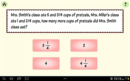 Simply Fractions, Math Basics