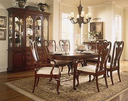 Amazon Com American Drew Cherry Grove 7 Piece Formal Dining Room