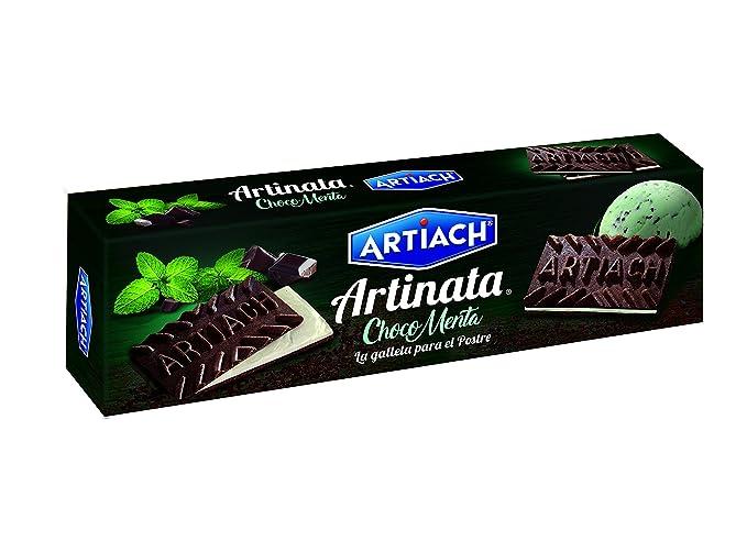 Artinata Choco Menta Galletas - Paquete de 12 x 210 gr - Total: 2520 gr
