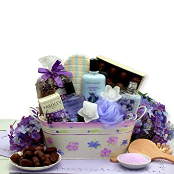 Image Unavailable. Image not available for. Color Mothers Day Gift Calming Bath u0026 Body Mothers Day Spa Gift Basket  sc 1 st  Amazon.com & Amazon.com : Mothers Day Gift Calming Bath u0026 Body Mothers Day Spa ...