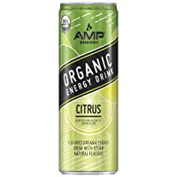 12-Pack AMP Energy Organic Energy Drink, Citrus 12 oz Cans Deals