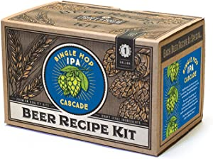 Craft a Brew Ingredient Single Hop IPA Recipe Kit – Make Your Own Beer with Home Brewing 1 Gallon