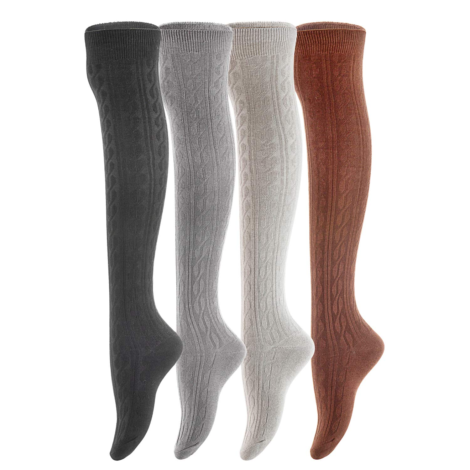 Extra Wide Fit Size 4-7 BRAND NEW RRP £12 Ladies LOVEYOURS socks 4x Pairs