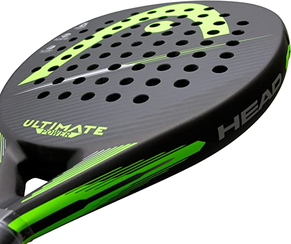 Head Pala de Padel Ultimate Power Green 2018: Amazon.es: Deportes ...