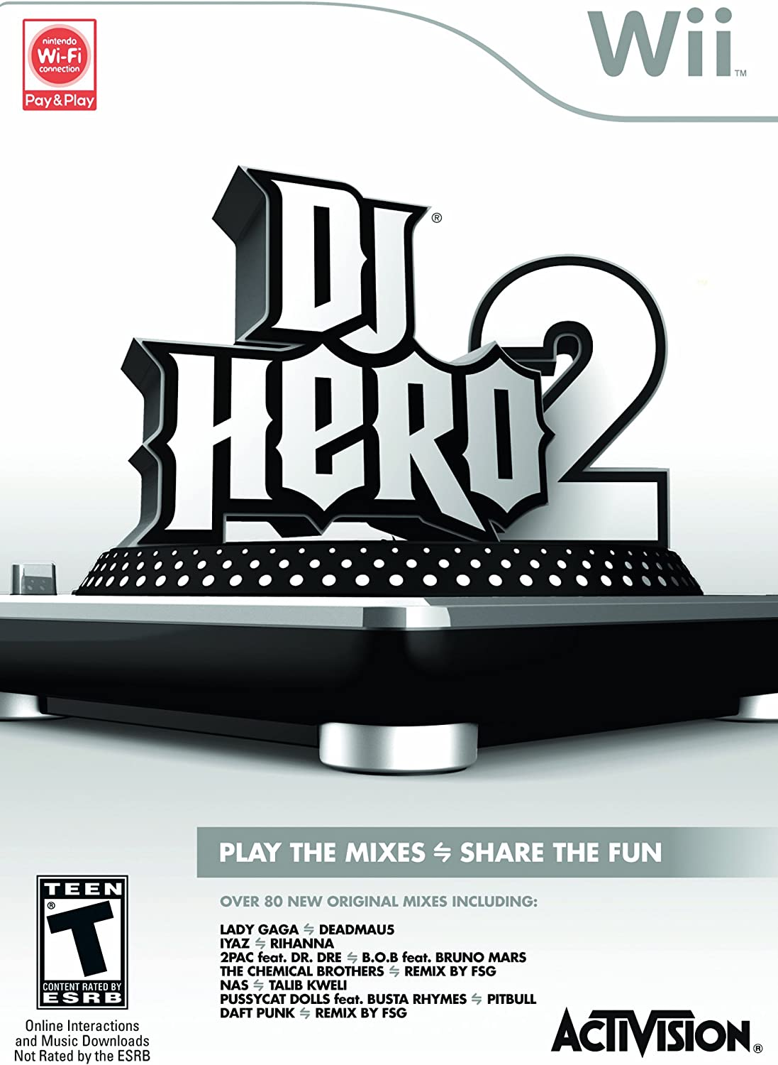 Amazon DJ Hero 2 Nintendo Wii Activision Video Games