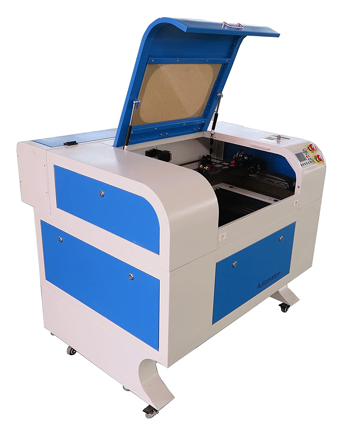 Amazon com: CO2 Laser Cutter and Engraver, Laser Machine 60W
