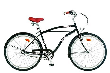 Bicicleta custom playera modelo Cruiser California 3S: Amazon.es ...