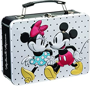 Disney Mickey & Minnie Large Tin Tote 89070