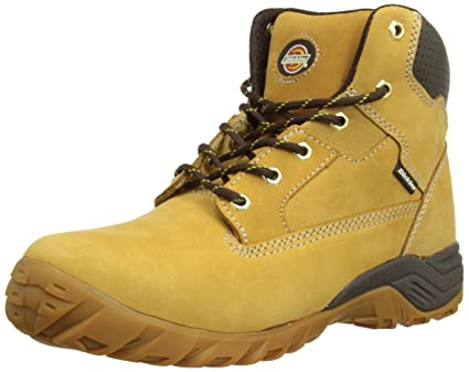 543df783f46 Dickies Mens Graton Safety Boots FD9207 Honey 6 UK, 40 EU Regular ...