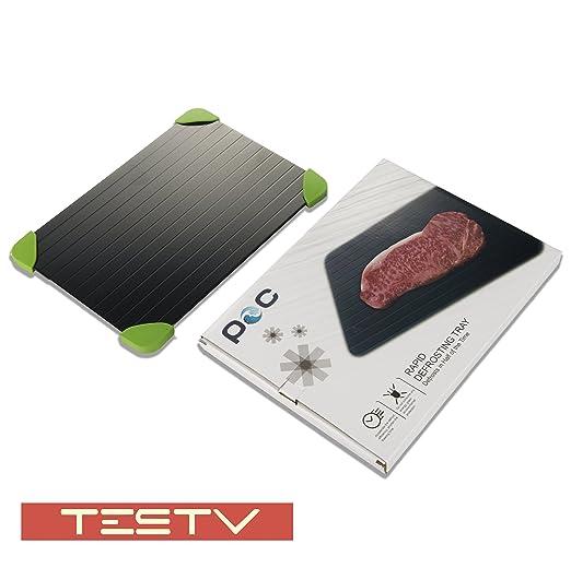 testv rápido bandeja de descongelación - descongelación carne o ...