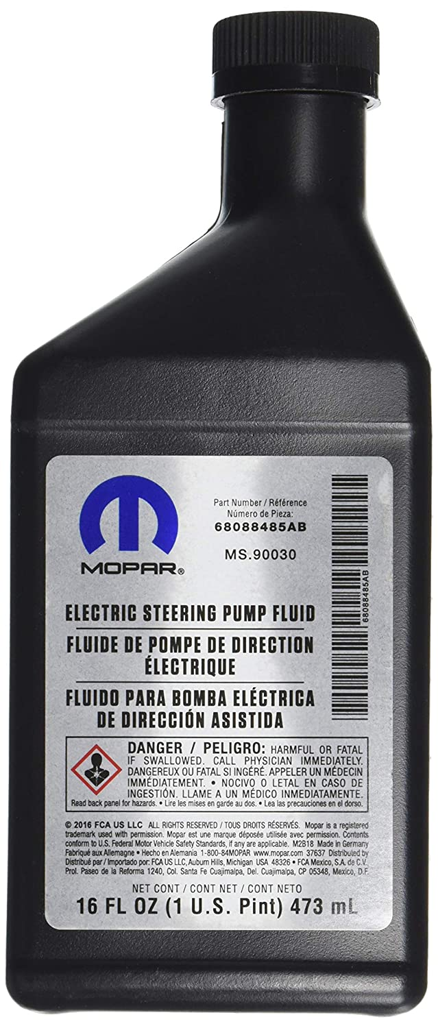 Genuine Chrysler (68088485AA) Power Steering Fluid