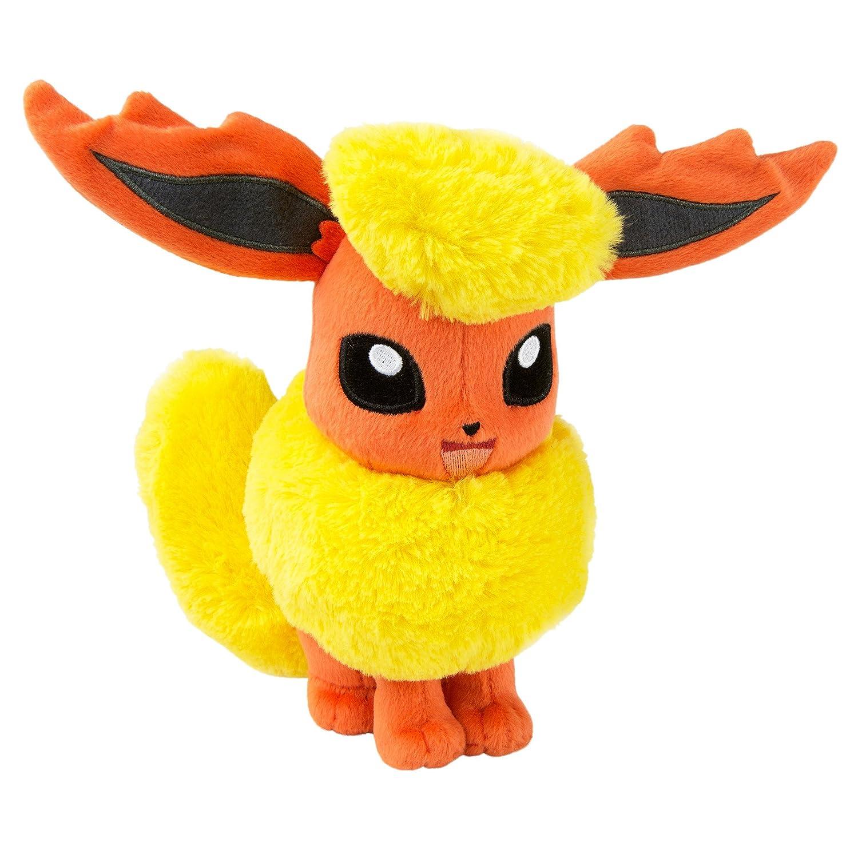 TOMY Pokemon Plush Figure Flareon 20 cm Peluches T19064L