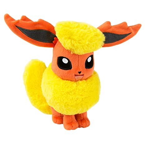 TOMY Pokemon Plush Figure Flareon 20 cm Peluches