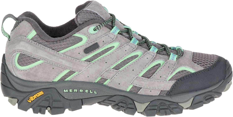 メレル シューズ ブーツ&レインブーツ Merrell Women's Moab 2 Waterproof Hiking DrizzleMin [並行輸入品]