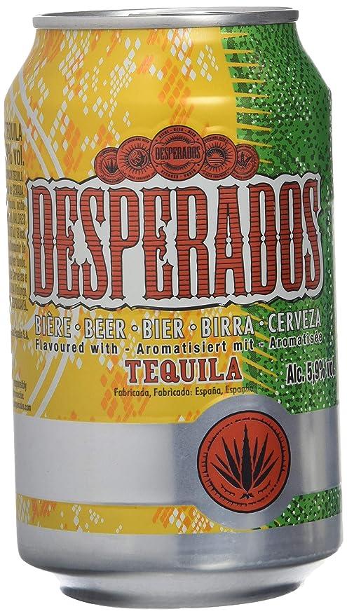 Desperados Cerveza - Caja de 24 Latas x 330 ml - Total: 7920 ml