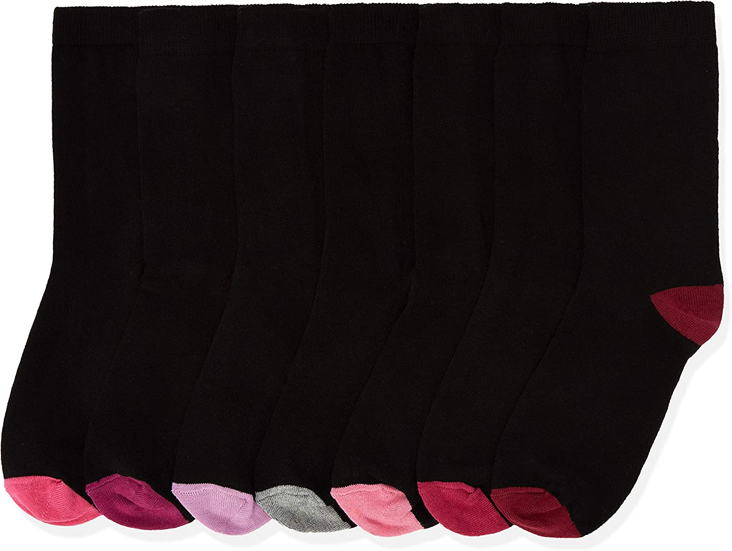Marca Amazon - Find B071h Calcetines para Mujer, 7 pares