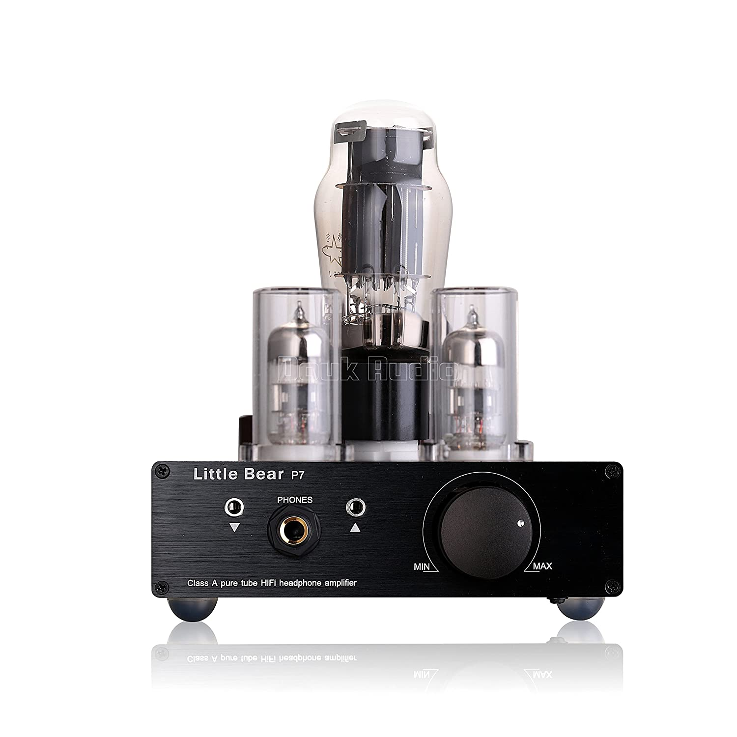 Nobsound Little Bear P7 Class A Srpp Pure Vacuum Tube Headphone Amplifier Wiring Circuit Preamplifier Audio Preamp Dual Headset Out Black