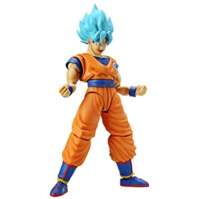 Bandai Hobby Dragon Ball Super: Super Saiyan God Super Saiyan Son Goku Figure-Rise Plastic Model Kit: Bandai Hobby Gunpla: Toys & Games