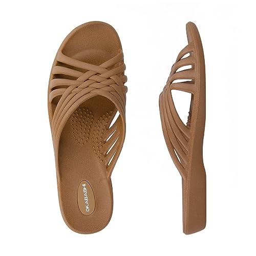 30aea4fc14d Okabashi Women s Venice Slides - Sandals (S - (W 5-6)