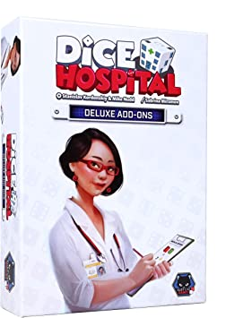 Dice Hospital - Kickstarter Add Ons Pack: Amazon.es: Juguetes y juegos