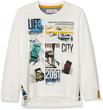 b90b529f5 boboli Boy s Camiseta Punto LISO De Niño T-Shirt  Amazon.co.uk  Clothing