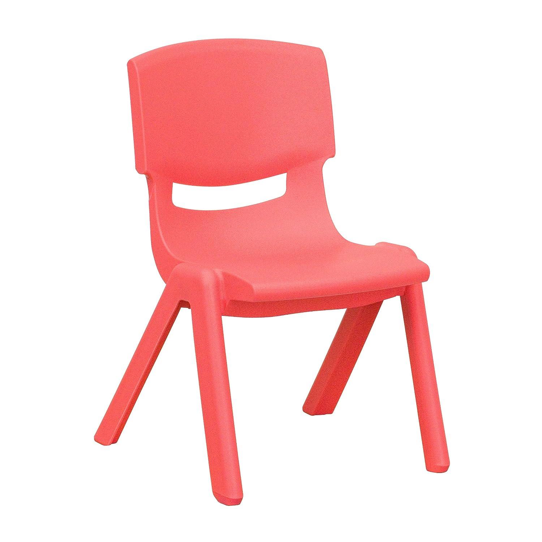 Amazon.com: Flash Furniture, silla apilable de plá ...