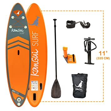 KANGUI Stand Up Paddle BALI 335cm Pack completo SUP BALI 335cm: Amazon.es: Deportes y aire libre