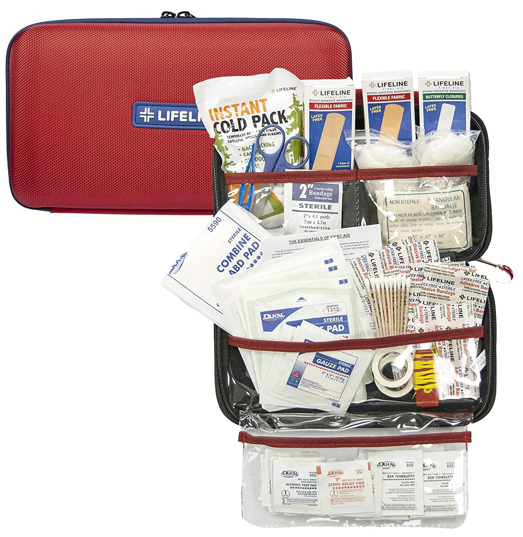 Lifeline First Aid EVA First Aid Kit, 121 Piece SS-SMS-4003474