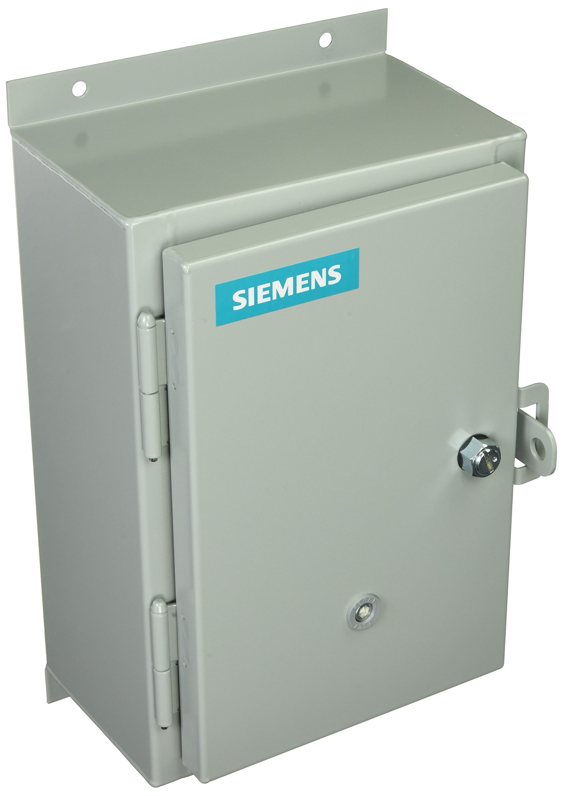 Siemens 14DUD320F Heavy Duty Motor Starter, Solid State Overload, Auto/Manual Reset, Open Type, NEMA 12/3 and 3R Weatherproof Enclosure, 3 Phase, 3 Pole, 1 NEMA Size, 5.5-22A Amp Range, A1 Frame Size, 120 Separate Control 60Hz Coil Voltage