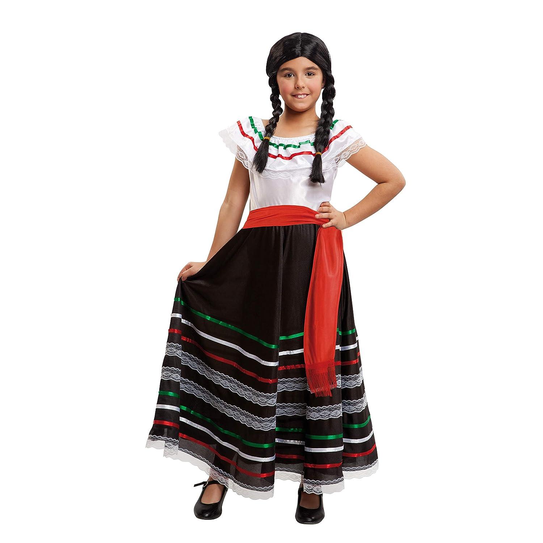 Viving Costumes 203322 10-12 a/ños My Other Me Me-203322 Disfraz de mejicana para ni/ña