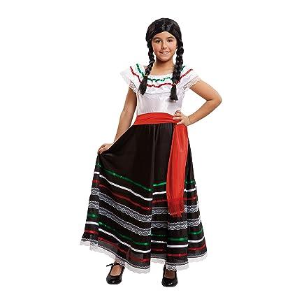 My Other Me Me-203320 Disfraz de mejicana para niña, 5-6 años (Viving Costumes 203320