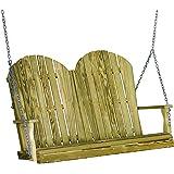 Luxcraft Pressure Treated Wood 4' Adirondack Swing