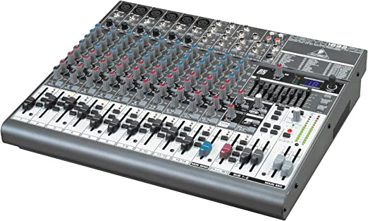 Behringer XENYX 1832 FX mesa de mezclas: Amazon.es: Instrumentos ...