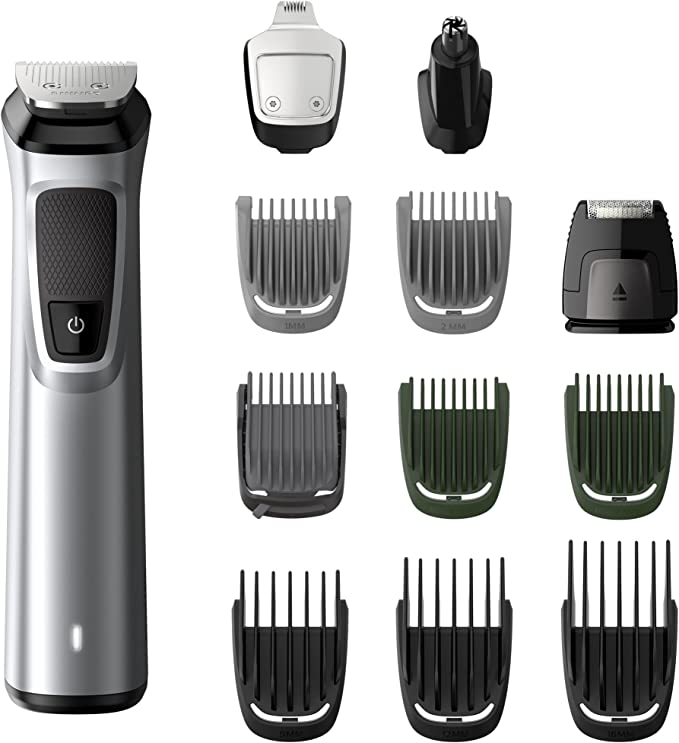 Philips Barbero MG7710/18 Recortador de barba y pelo, óptima ...