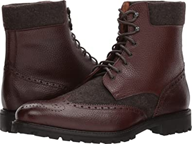 6dd83754776 Massimo Matteo Mens Mix Media Wing Boot
