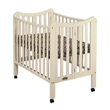 Orbelle Tian Portable Crib, French White