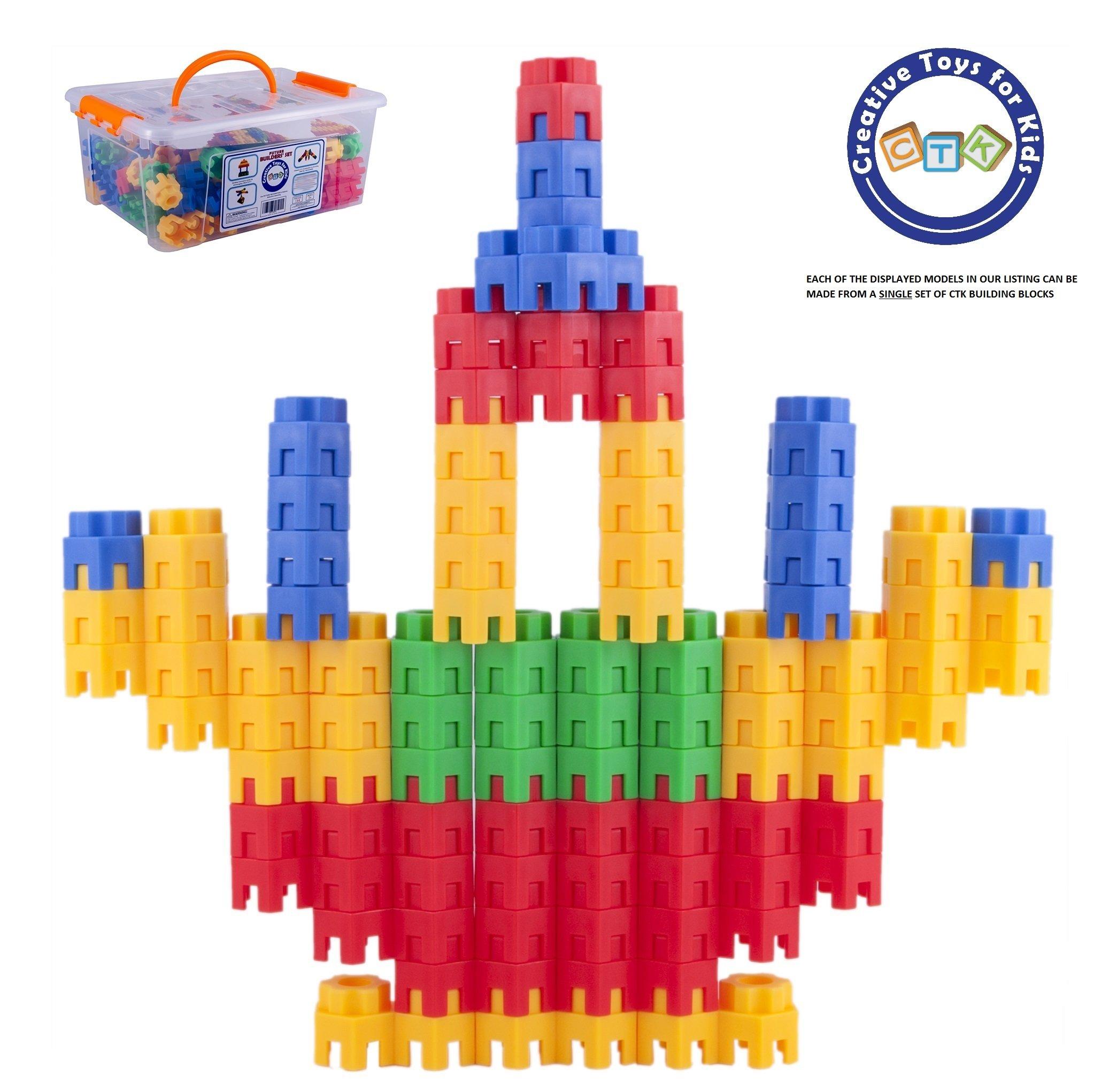 STEM Educational Construction ... Building Toys For Kids 144 Pcs Set