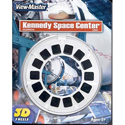 View-Master 3D 3-Reel Card Kennedy Space Center Florida: Toys & Games