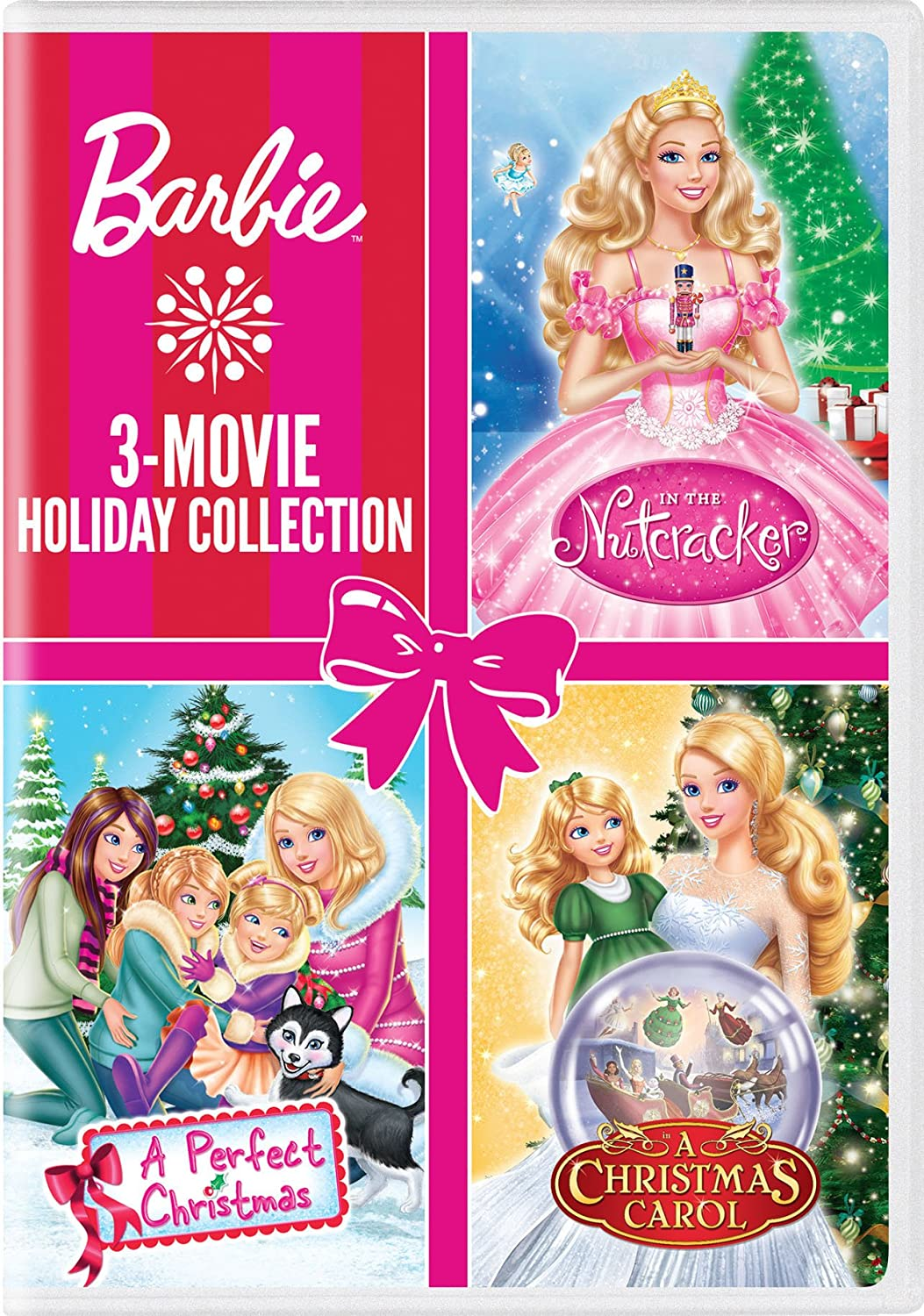 Amazon.com: Barbie: 3-Movie Holiday Collection (Barbie: A Perfect ...