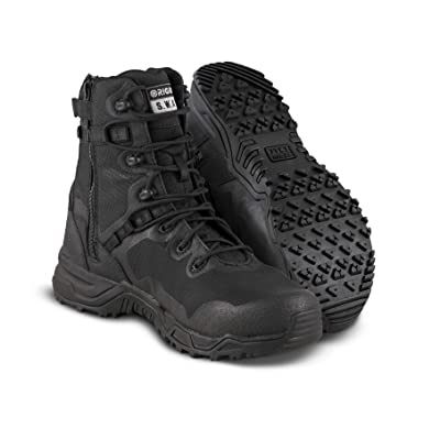 "Original SWAT Alpha Fury 8"" Side Zip Tactical Boot 
