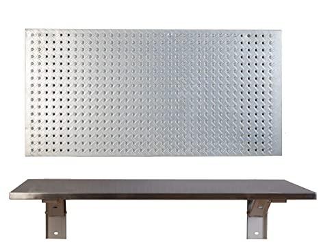 Cool The Quick Bench Stainless Steel Folding Wall Mounted Workbench 20 X 36 Andrewgaddart Wooden Chair Designs For Living Room Andrewgaddartcom