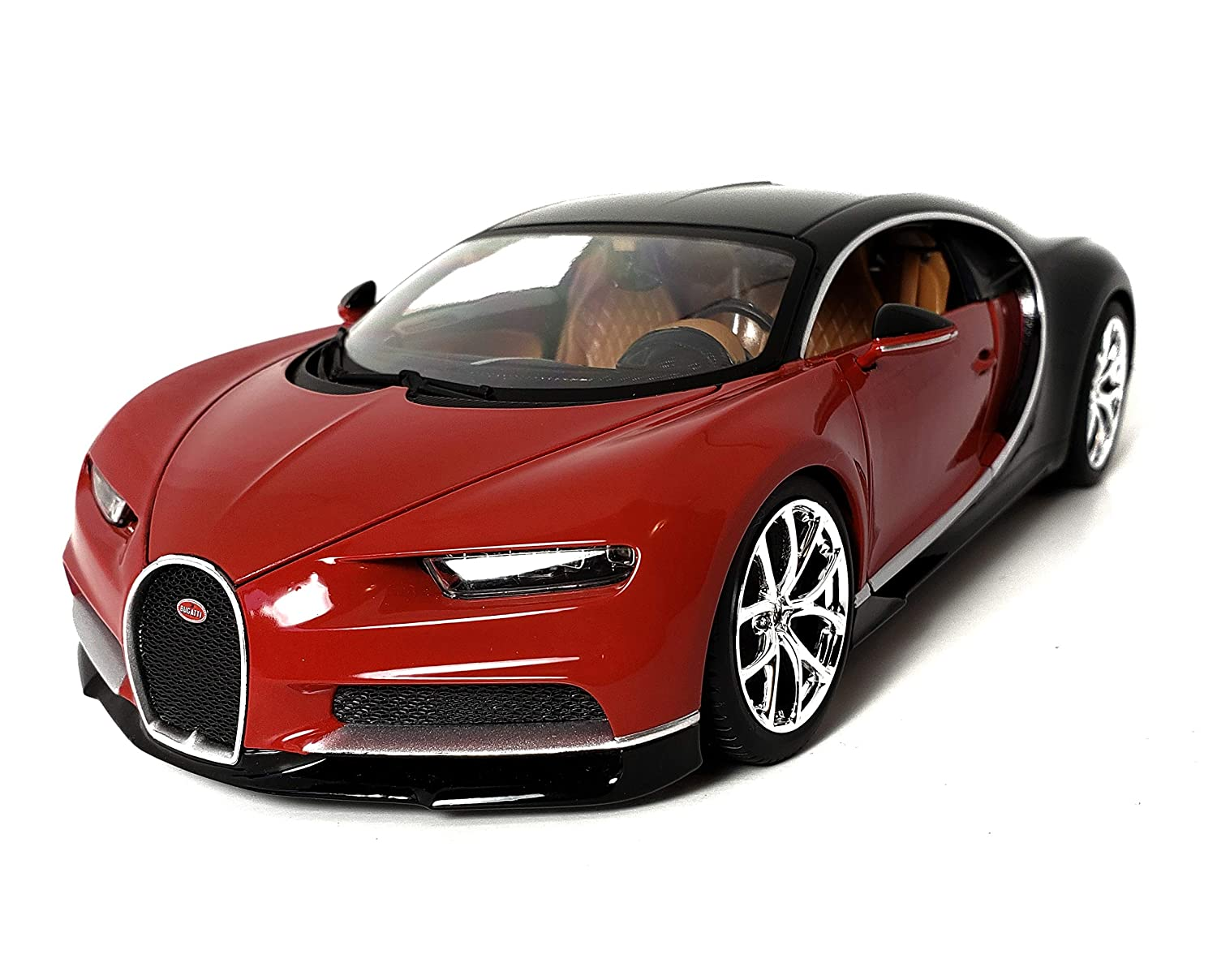 Maisto Special Edition 1:18 Bugatti Chiron Diecast Vehicle (Red) china