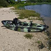 Amazon.com : Vibe Kayaks Skipjack 90 9-Foot Angler Sit On