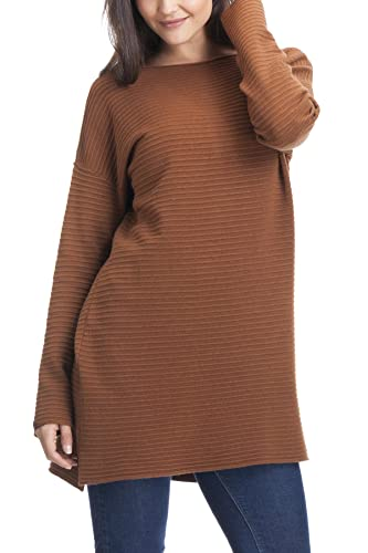 Laura Moretti - Suéter o jersey de punto oversized con aperturas laterales