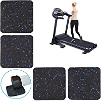Treadmill Mat Heavy Exercise Equipment Mat with High Density Rubber Sturdy Versatile Rubber Pads for Hardwood Floors and…