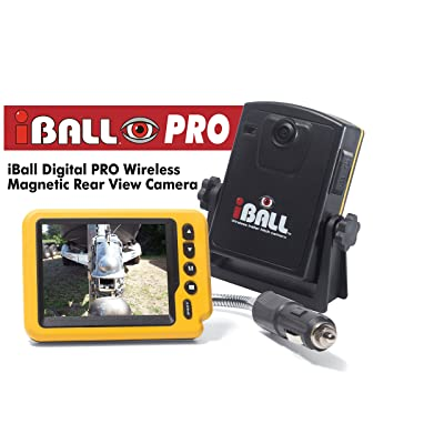 Iball Digital Pro Wireless Magnetic Trailer Hitch Rear View Camera: Car Electronics [5Bkhe1009875]