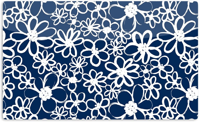 KESS InHouse Emine OrtegaDaisy Lane Artistic Aluminum Magnet Multicolor 2 by 3