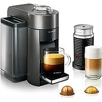DeLonghi Nespresso Vertuo Coffee and Espresso Machine with Aeroccino (Titan)