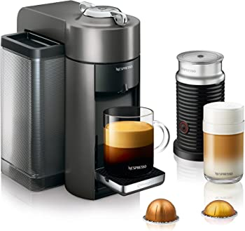 DeLonghi Nespresso Vertuo Coffee & Espresso Maker with Aeroccino